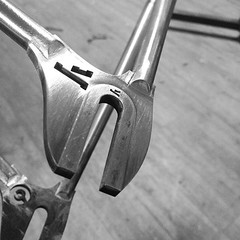 Dropout dropout dropout. #brassbrazing #custom #columbus... (Stubborn Cycleworks) Tags: columbus track handmade fixed fixie fixedgear custom pista framebuilding custommade dropout brassbrazing spunstudio uploaded:by=flickstagram stubborncycleworks instagram:venuename=stubborncycleworks instagram:venue=263704721 dropoutfaces instagram:photo=10999973227536108122926796