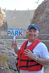 Twitter Mirror (Lake Mead National Recreation Area) Tags: centennial lasvegas nevada lakemead nationalparkservice lakemeadnationalrecreationarea juniorrangerday twittermirror findyourpark