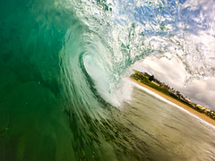 A Storm over Werri Beach (edwinemmerick) Tags: ocean beach tube wave australia shorebreak geringong gopro werribeach werri
