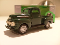 WELLY 1951 FORD F1 PICK-UP 1/64 (ambassador84 OVER 11 MILLION VIEWS. :-)) Tags: ford pickuptruck welly diecast 1951fordf1