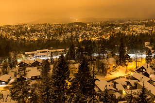 Winter evening in Oslo