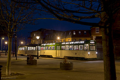 Twin Car 685 675 Pharos Street (Blackpool trams dalrigh) Tags: 675 685 blackpooltrams twincar ftschristmastour