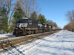 NS Chicago Line / MP 456 Westbound (codeeightythree) Tags: ns ethanol tanktrain ethanoltrain unittrain norfolksouthernrailroad rollingprairieindiana nschicagoline norfolksouthernchicagoline