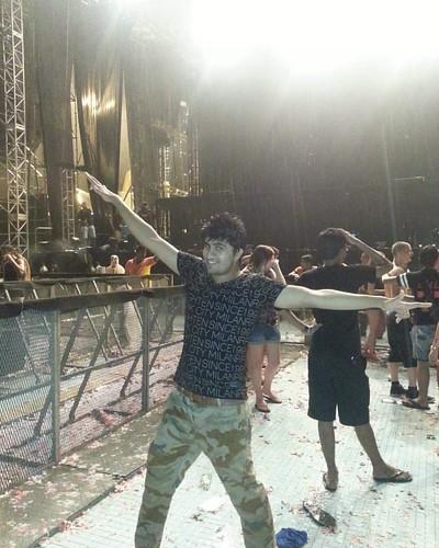 Swedish House Mafia Concert..... Malaysia ♡ .. #JangooNight #Onelasttour #Malaysia #swedishhousemafia #KualaLampur #sunwaylagoon