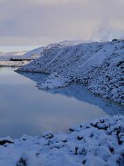 Blue Lagoon (Jeslettt) Tags: iceland secluded lavarocks