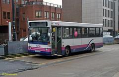 Eastleigh    N324 ECR (davidhann34016) Tags: pointer first dennis southampton dart citybus eastleigh 324 plaxton 46324 firsthampshiredorset n324ecr
