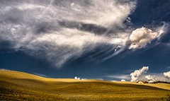 The textures and tones of Tuscany  3. (AlbOst) Tags: italy clouds textures tuscany valdorcia tones cretesenesi lightandshade innamoramento goldcollection