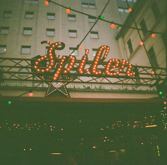 (thismaudlincareer) Tags: city travel winter sign bar lights lomo lomography neon hungary budapest lofi signage spiler gozsduudvar kodakultramax400 spler dianamini