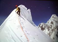 Kunyang Chhish East, 7.400 mt (Mattia Camellini) Tags: pakistan mountain nature natura karakoram arrampicata alpinism simonanthamatten mattiacamellini messnermountainmuseumcorones kunyangchhisheast hansjrgauer matthiasauer