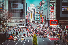 Shibuya crossing (leon.johannessen) Tags: japan analog voigtlander f100 ultron