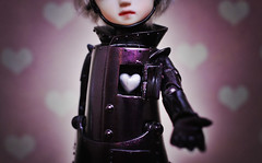 Be my Valentine? (karmadekarmade) Tags: tin doll day chip valentines bjd woodman pipos