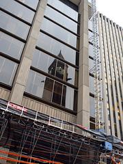 clock tower (Ian Muttoo) Tags: toronto ontario canada reflection clock reflections gimp clocktower oldcityhall ufraw dsc52331edit