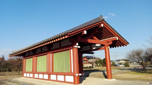 Site of corridor of Shimotsuke Yakushiji temple