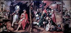 IMG_8658A Jan Mandyn (Mandijn). 1500-1559. Anvers.  Les Epreuves de Job. Job's afflictions. Douai. Muse de la Chartreuse (jean louis mazieres) Tags: museum painting muse netherland museo paysbas peintures peintres janmandyn