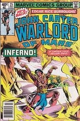 John Carter, Warlord of Mars 25 (micky the pixel) Tags: comics comic fantasy scifi marvel edgarriceburroughs johncarter tarstarkas heft vosburg warlordofmars ricardovillamonte