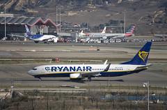 Ryanair Boeing 737-800 (EI-DPV) (CAUT) Tags: madrid españa plane airport spain nikon aircraft aviation january enero american airline ryanair mad flughafen americanairlines flugzeug aeropuerto aa spotting avion 737 t4 b737 aviacion 2016 adolfosuarez boeing737 spotter d610 aerolinea b737800 t4s aeropuertomadrid lemd caut madridbarajas eidpv nikond610 ryanaireidpv