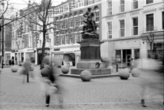 Ghosts of St. Anne's Square (Stuart Grout) Tags: bw film manchester kodak bwfp