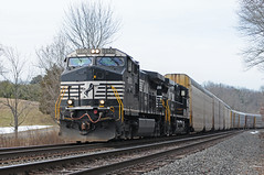 NS 9850 on 290 (Adrian Corus) Tags: ns norfolksouthern 290 dash944cw 9850 lehighline