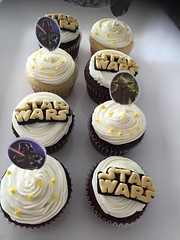 Star Wars cupcakes, Loudoun County, VA, www.birthdaycakes4free.com