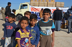 Displaced children in Baghdad (Ummah Welfare Trust) Tags: poverty charity winter children islam iraq relief aid baghdad syria muslims development erbil humanitarian anbar humanitarianism
