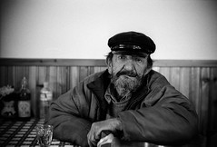 Portrait-5.jpg (Perilouc) Tags: portrait greece pelion fisherman leicam6 ilford hp5 ilfordhp