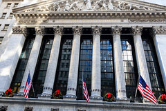 NYSE (WhitcombeRD) Tags: street new york city nyc usa ny newyork wall america stock exchange stockexchange nyse wallst