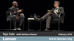Teju Cole in Conversation with Amitava Kumar in Santa Fe, NM on February 3, 2016 (lannanfoundation) Tags: santafe literary nigeria writer lensic opencity amitavakumar tejucole nigerianauthor lannanfoundation readingandconversation everydayisforthethief