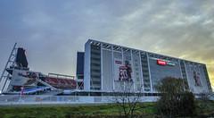 Levi's Stadium (acase1968) Tags: california santa clara sky sunrise lens football nikon cloudy stadium nfl overcast sunny super bowl d750 20mm nikkor 50 mostly partly f18g