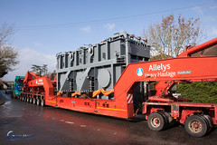 National Grid Transformer Move (Gary J Morris) Tags: truck transformer lorry wick haulage nationalgrid garymorris allelys bs30