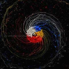 centrifugato di Pollock (Antonio Iacobelli (Jacobson-2012)) Tags: nikon df steel brush colori bari drill highspeed trapano acciaio spazzola acrilici su800 sb900 sb700 sb910 fabianofner