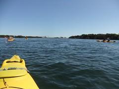 Kayaking, Garden Island, Feb 2016 (birdsrule) Tags: kayaking gardenisland