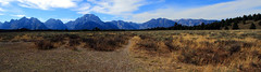 Northern Grand Teton Range Panorama - Grand Teton National Park, Wyoming (danjdavis) Tags: panorama mountains nationalpark rockymountains wyoming grandtetons grandtetonnationalpark grandtetonrange