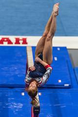 Utah vs Arizona-2016-163 (fascination30) Tags: utah gymnastics universityofutah utes