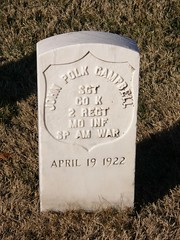 JOHN POLK CAMPBELL (K. Horn) Tags: military mo springfield veterans spanishamericanwar springfieldnationalcemetery mossouri