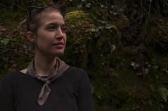 Brenda (ingridfreaney) Tags: portrait woman oregon creek river pacific northwest eagle columbia gorge bandana pnw