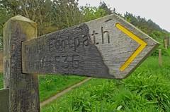 Formby Flamb (RoystonVasey) Tags: danger canon mod path rifle powershot coastal area range southport hs merseyside sefton hightown altcar sx260