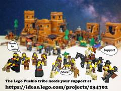 Lego Pueblo E3 (giorgio.chronas) Tags: arizona verde america mexico lego native pueblo western taos ideas acoma mesa zuni