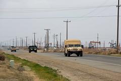 Military convoy in California (PetteriJarvinen) Tags: california us unitedstates military humvee convoy losthills