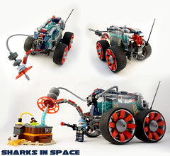 Febrovery 2016 Day 25 (TFDesigns!) Tags: lego space rover spacesharks febrovery slimestars