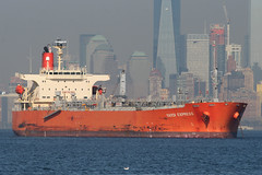 YAYOI EXPRESS in New York, USA. October 2015 (Tom Turner - SeaTeamImages / AirTeamImages) Tags: nyc orange usa newyork water port bay harbor marine ship unitedstates harbour transport spot anchorage pony maritime transportation anchor statenisland bigapple tanker spotting waterway stapleton tomturner yayoiexpress