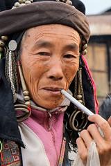 Gandalf's grandma 1 (Laura Jacobsen) Tags: laos hilltribe akha phongsaly phongsali akhanoukouy