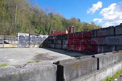 (bagtanger) Tags: seattle graffiti prove nbd labrat kfm
