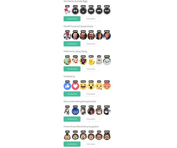 កាន់តែពិសេសពេលប្តូរ Emoji របស់ Facebook ទៅជារូបកំប្លែងផ្សេងៗទៀត!