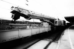 Der Kirow KRC 810 T (Uwe Wieteck) Tags: spitzke eisenbahndrehkran kirow eisenbahnkran krc810t 99809419009