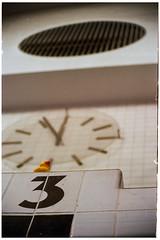 3nte vor 4 vor 12 (masine) Tags: abandoned clock film analog 35mm de bayern deutschland three duck minolta kodak bad swimmingpool 135 ente rubberduck xd7 manualfocus nrnberg drei uhr natatorium schwimmbad volksbad gummiente schwimmbecken leerstehend startingblock kleinbild startblock quietschente ektar100 vivitar75205138