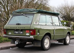 PWW 173M (2) (Nivek.Old.Gold) Tags: 1974 diesel rover fairey camper range overdrive 2500cc carawagon
