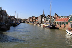 (harbour) haven, Monnickendam, Brug straat - t'Prooyen, Netherlands (C. Bien) Tags: haven history water netherlands harbour nederland noordholland waterland historie geschiedenis monnickendam northholland gouwzee