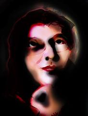 let life shine a light on you 01 (universefringe) Tags: portrait color art painting drawing content line figure form