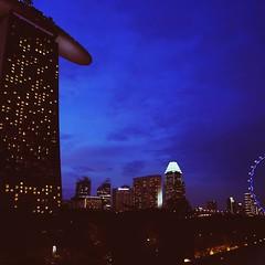 Singapore Flyer and Marina Bay Sands... (markjoefersuson) Tags: light cool singapore nightshot singaporeflyer marinabaysands sg50 vscocam uploaded:by=flickstagram instagram:venue=1163295 instagram:venuename=marinabaysands instagram:photo=9115167232494283907111804