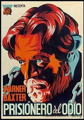 """Warner Baxter en """"Prisionero del odio"""" (Biblioteca Nacional de España) Tags: cine warren baxter carteles"""